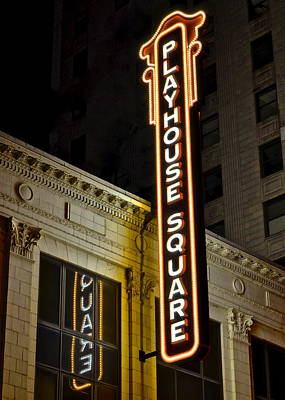 Playhouse Square Print by Frozen in Time Fine Art Photography