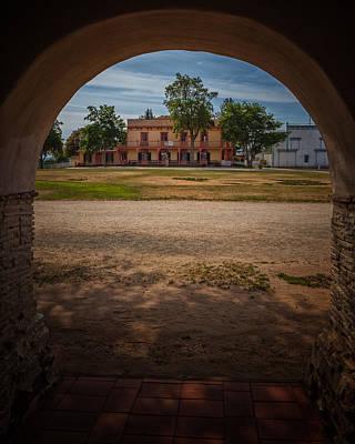 Mission San Juan Bautista Photograph - Plaza Hall by Thomas Hall Photography