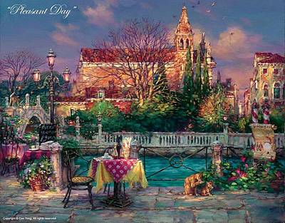 E 20 Painting - Pleasant Day by Cao Yong