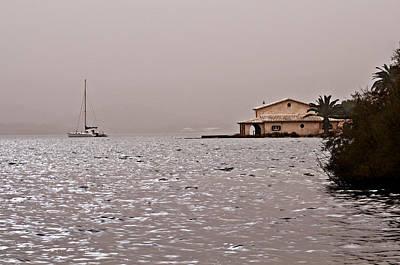 Nature Photograph - Port Of Fornells In Minorca Island - Pleasant Life by Pedro Cardona