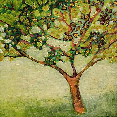 Plein Air Garden Series No 8 Print by Jennifer Lommers