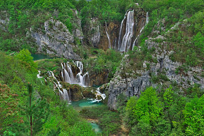 Rock Photograph - Plitvice by Ivan Slosar