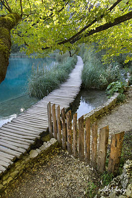 Photograph - Plitvice Serenity by Robert Lacy