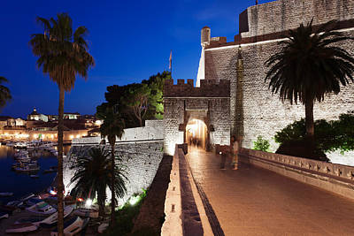 Dubrovnik Photograph - Ploce Gate And Fort Revelin, Dubrovnik by Panoramic Images