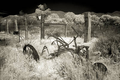 Horse-drawn Plow Photograph - Plowed Under by Scott Campbell
