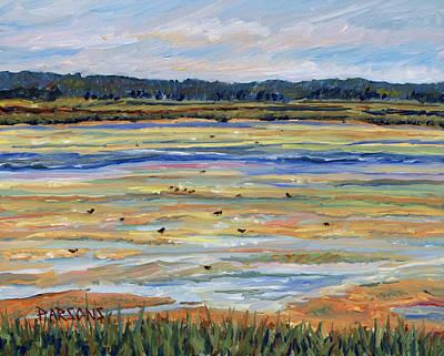 Plum Island Salt Marsh Print by Pamela Parsons