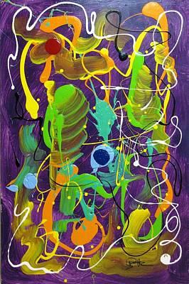 Plum Wild Print by Bill Herold