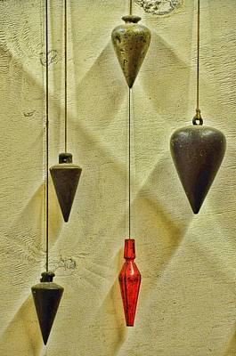 Plumb Red Print by Jan Amiss Photography