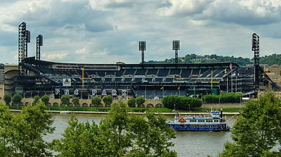 Pnc Park Pittsburgh Pirates Original by Angelo Rolt
