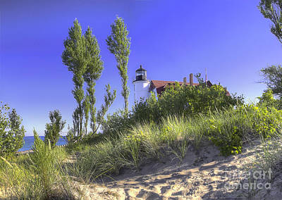Northport Photograph - Point Betsie by Twenty Two North Photography