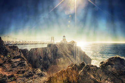 Point Bonita Lighthouse - Marin Headlands 3 Print by The  Vault - Jennifer Rondinelli Reilly