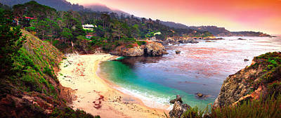 Of Big Sur Beach Photograph - Point Lobos State Reserve by Emmanuel Panagiotakis