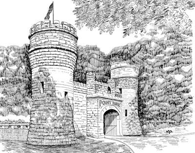 Point Park Print by Robert A Powell