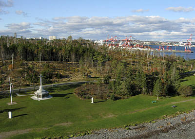 Photograph - Point Pleasant Park, Halifax by Rob Huntley