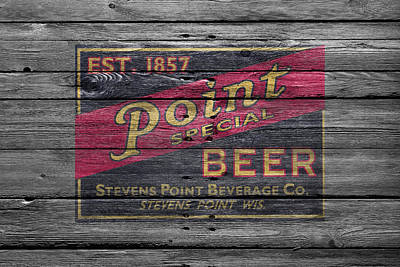 Handcrafted Photograph - Point Special Beer by Joe Hamilton