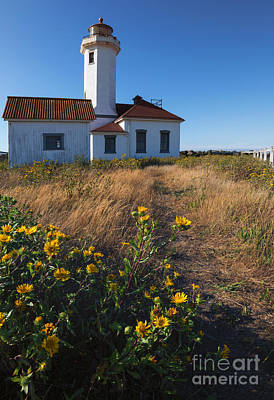 Point Wilson Lighthouse Original by Mike  Dawson