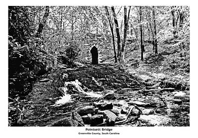 Poinsett Bridge - Architectural Rendering Print by A Wells Artworks