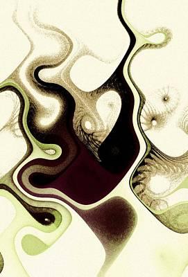 Black Digital Art - Poisoned Mind by Anastasiya Malakhova