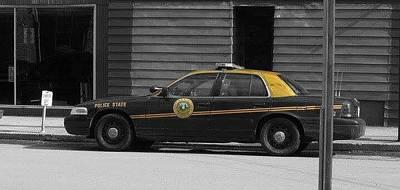 Sutton Digital Art - Police State by Brook Finley