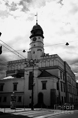Polish City Photograph - Polish Ethnographic Ethnography Museum Krakow Former 15th Century Town Hall And 16th Century Renaissance Building by Joe Fox