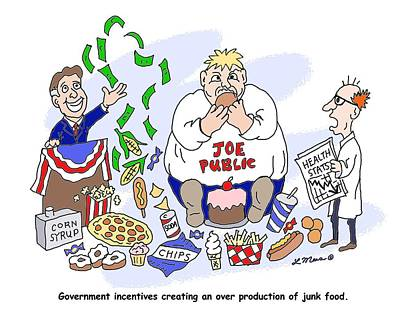 Political Digital Art - Political Cartoon One by Linda Mears
