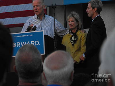 Joe Biden Photograph - Politicians Sept 21 2012 by Lisa Gifford
