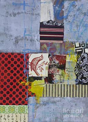 Crayons Mixed Media - Polka Dot by Elena Nosyreva