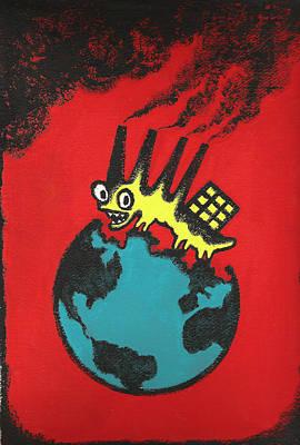 Pollution Original by Leon Zernitsky