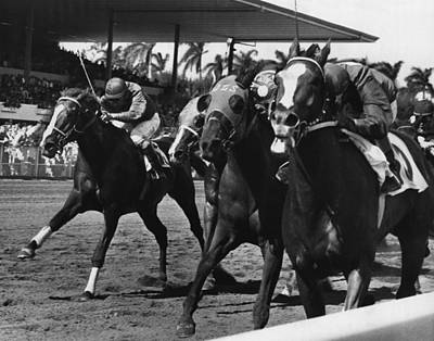 Polo Boreal Horse Racing Vintage Print by Retro Images Archive