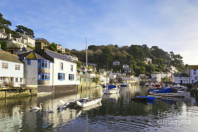 Polperro Cornwall England Print by Colin and Linda McKie