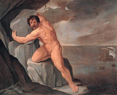 Guido Reni Painting - Polyphemus by Guido Reni