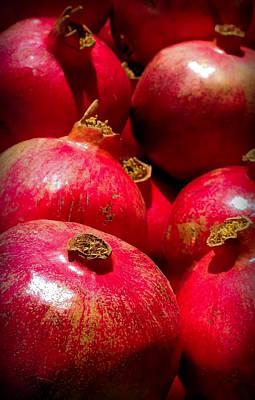 Pomegranates Print by Karen Wiles