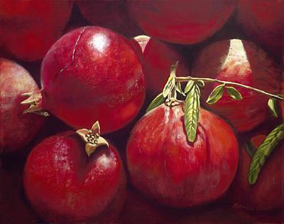 Pomegranates Print by Patricia Devitt