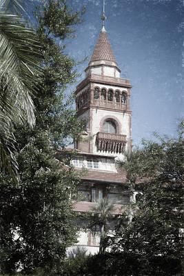 Ponce De Leon Hall Print by Joan Carroll