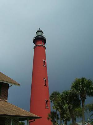 Lanterns Photograph - Ponce De Leon Inlet Light 2 by Cathy Lindsey