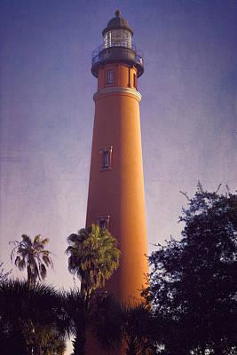 Ponce De Leon Lighthouse Print by Joan Carroll