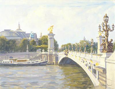 Pont Alexandre IIi Print by Julian Barrow