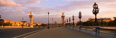 Pont Alexandre IIi With The Hotel Des Print by Panoramic Images