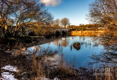 Llanberis Photograph - Pont Pen Y Llyn Bridge by Adrian Evans