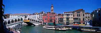 Ponte Di Rialto Venice Italy Print by Panoramic Images