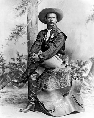 Us Postal Service Photograph - Pony Express Rider by Underwood Archives