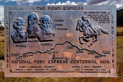 Pony Express Route Original by Jon Burch Photography