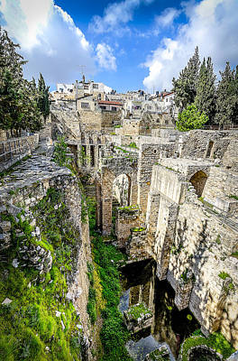 Mercy Photograph - Pool Of Bethesda by David Morefield