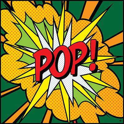 Pop Art 4 Print by Gary Grayson