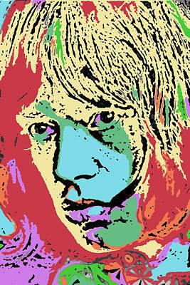 Mick Jagger Digital Art - Pop Art Jagger by David G Paul