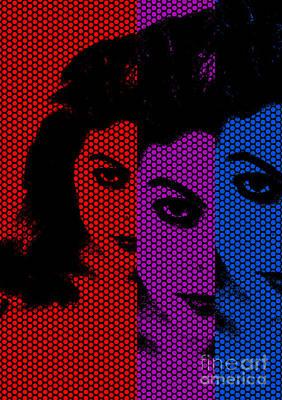 Pop Eyes Print by Nelson Osorio