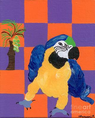 Pop Parrot Original by Melissa Vijay Bharwani
