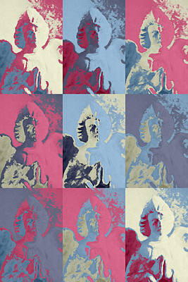 Popart An Angel Print by Toppart Sweden