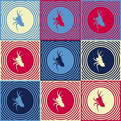 Popart Spiders  Original by Toppart Sweden