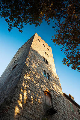 Pope John Xxii Tower At Cahors, Lot Print by Panoramic Images